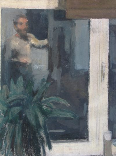 Autoportrait dans la vitre