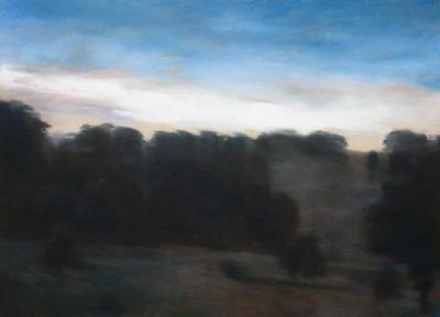 Crépuscule en Ardèche