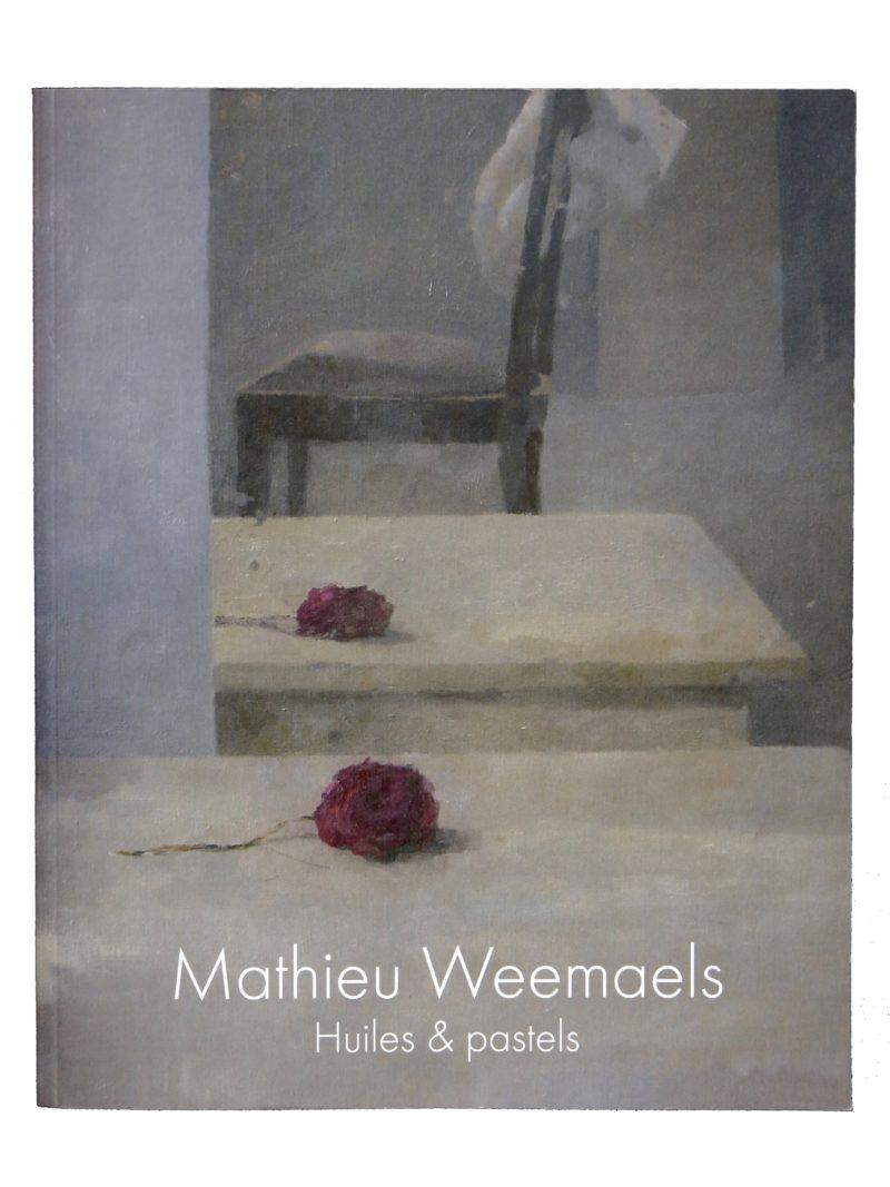 Mathieu Weemaels-livre-huiles Et Pastels - Couverture