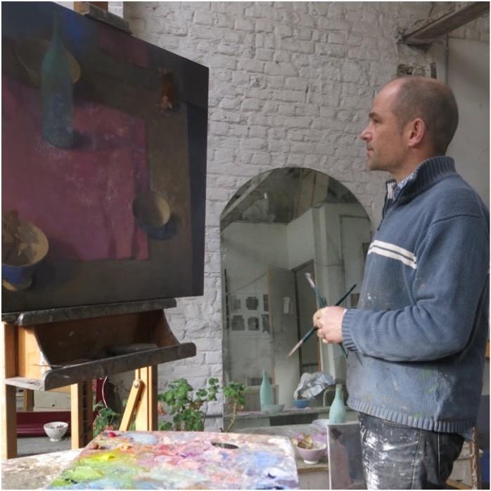 Mathieu Weemaels - Portrait En Atelier