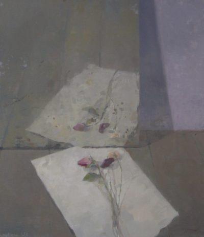 Miroir et fleurs