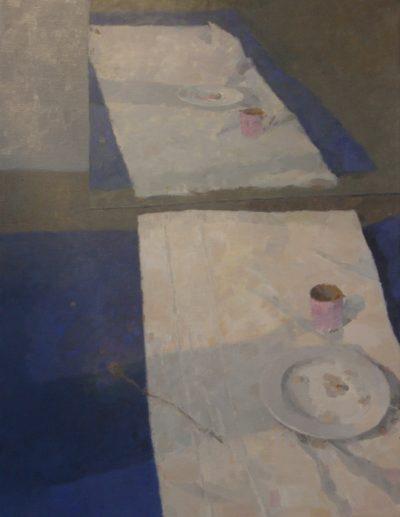 Miroirs et bleu
