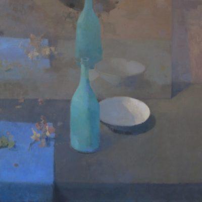 Composition à la bouteille verte