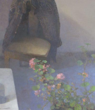 Chaise au géranium