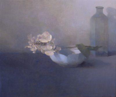 Hortensia et porcelaine