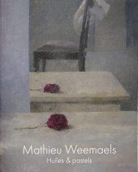 Mathieu Weemaels-livre-huiles Et Pastels - Borderless Cover